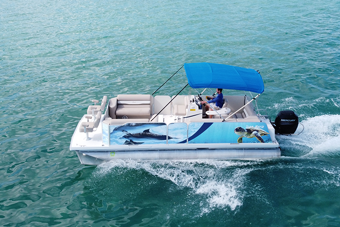 22' Fiesta Pontoon